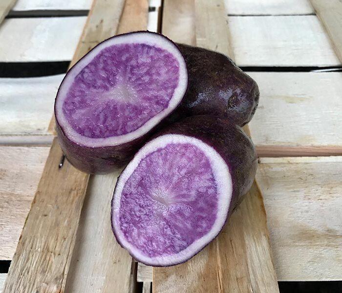 Pomme de terre Violine de Boree (non lavee) – le kilo